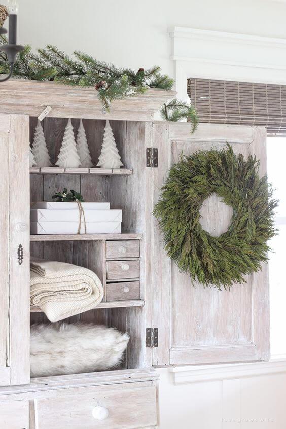 adornos para baños navideños