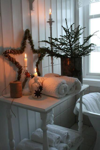 baños navideños ideas