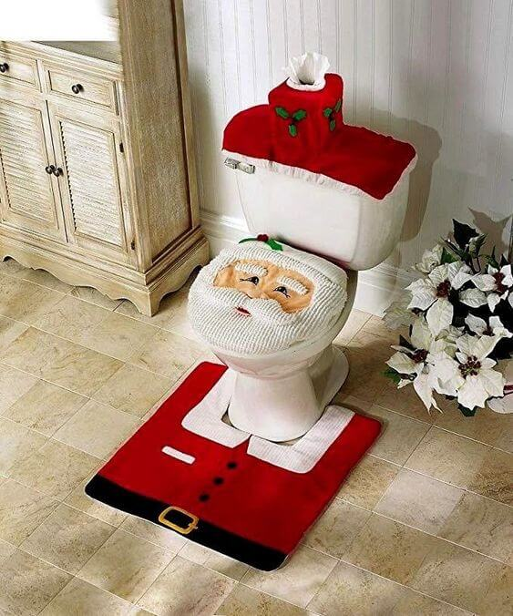 baños navideños que son NO