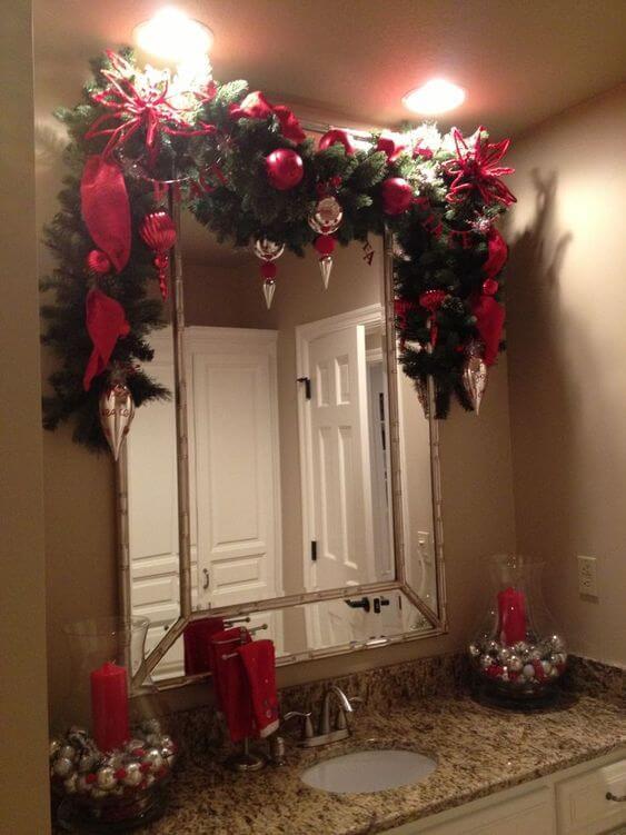 baños navideños