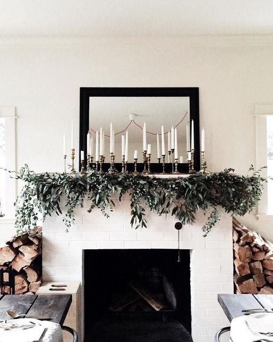 decorar en Navidad con Velas