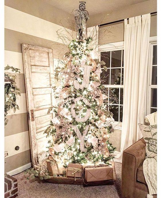 decorar en Navidad abeto