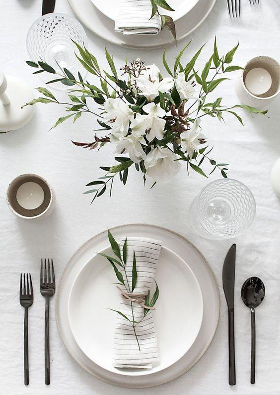 decorar mesas en Navidad