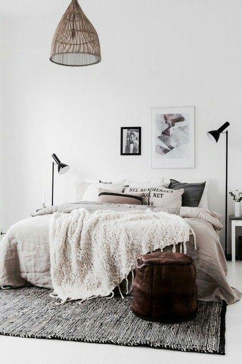 dormitorio de invitados iluminación