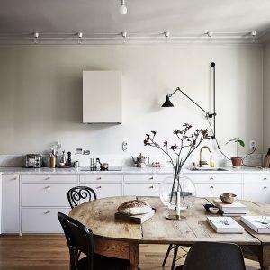cocina de estilo nórdico