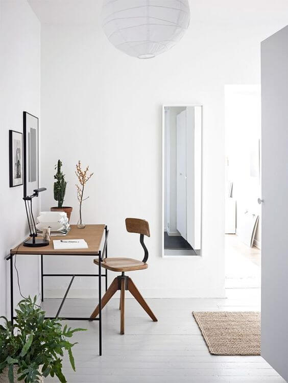 decorar zonas de trabajo la silla