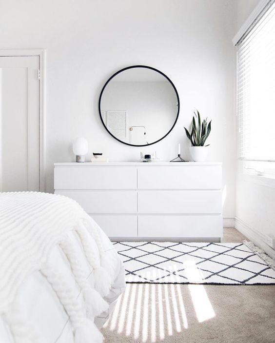 blanco sobre blanco en decoración