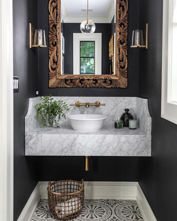 tendencias en baños espejos