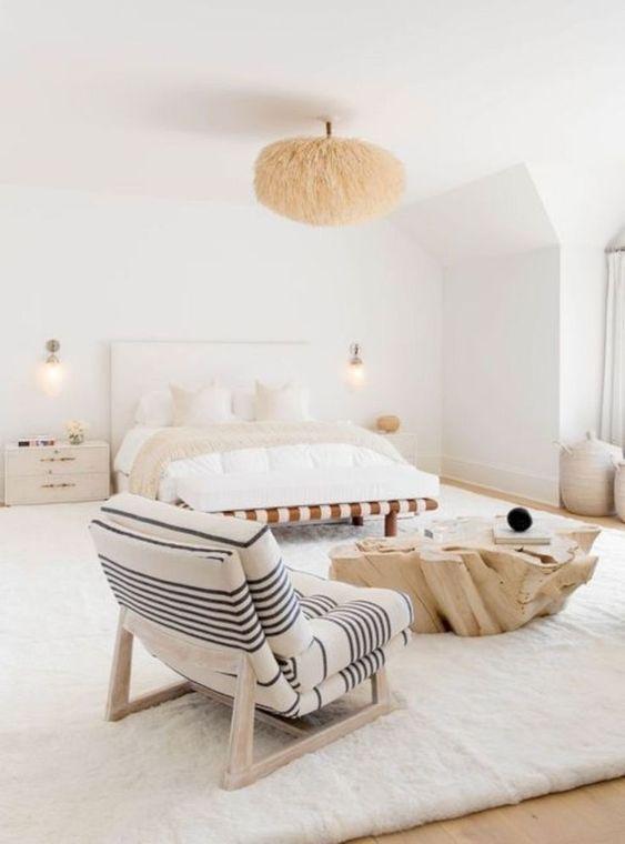 decorar en tonos neutros dormitorios