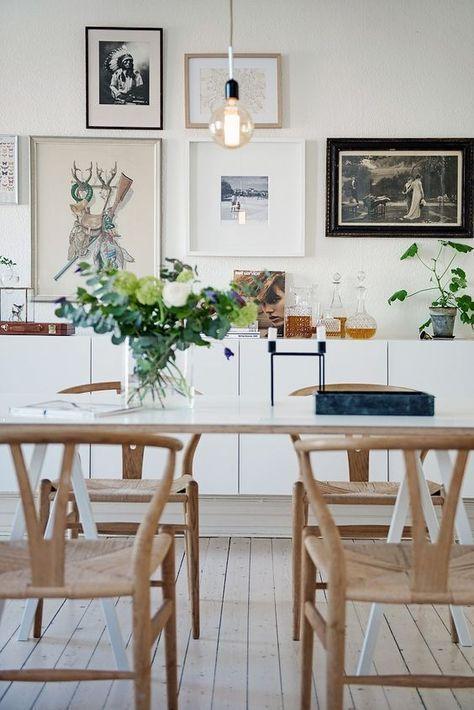 decorar comedor con estilo nórdico