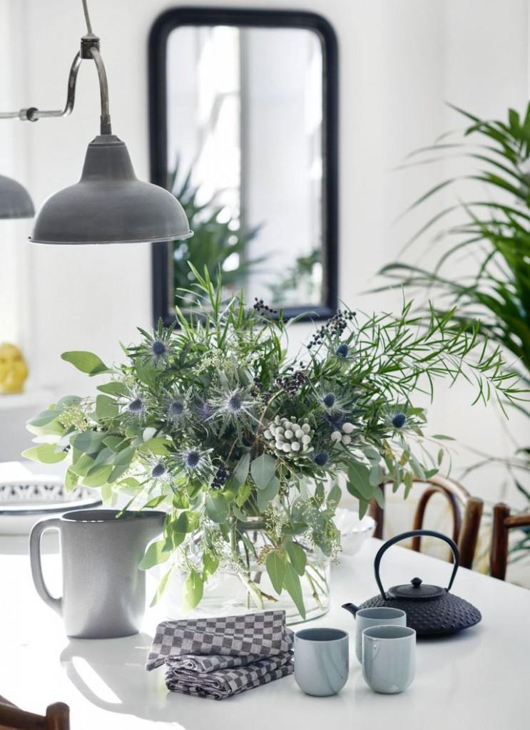 decorar con flores silvestres
