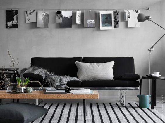 Taburete Frosta de Ikea como mesita auxiliar