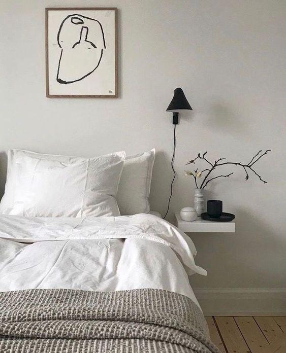 5 DIY sencillos para un dormitorio nórdico