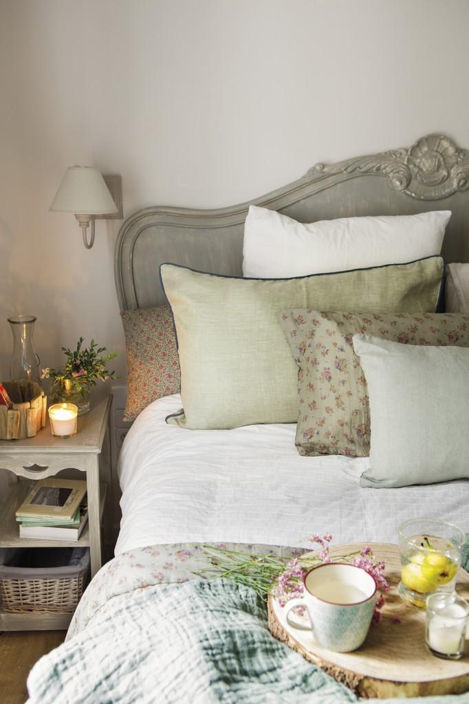 decoración dormitorio casa de verano