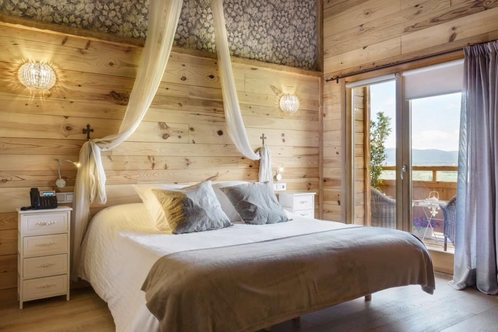 Hotel Viñas de Larrede dormitorio