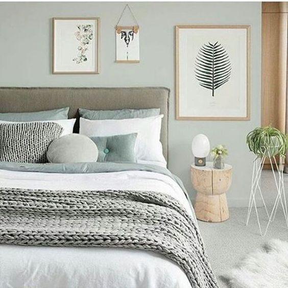 decoración dormitorio natural