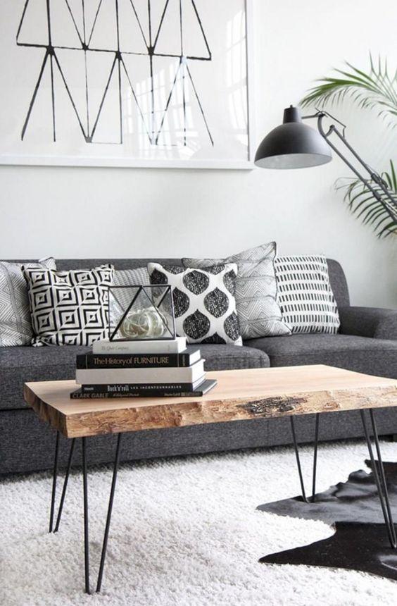 elegir los cojines del sofá