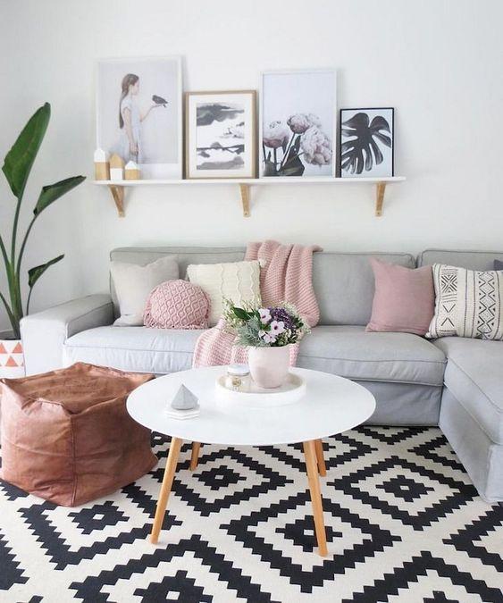 elegir cojines del sofá