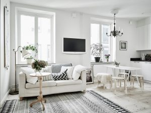 Decorar un salón con estilo nórdico