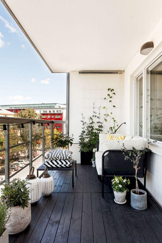 errores al decorar un balcón