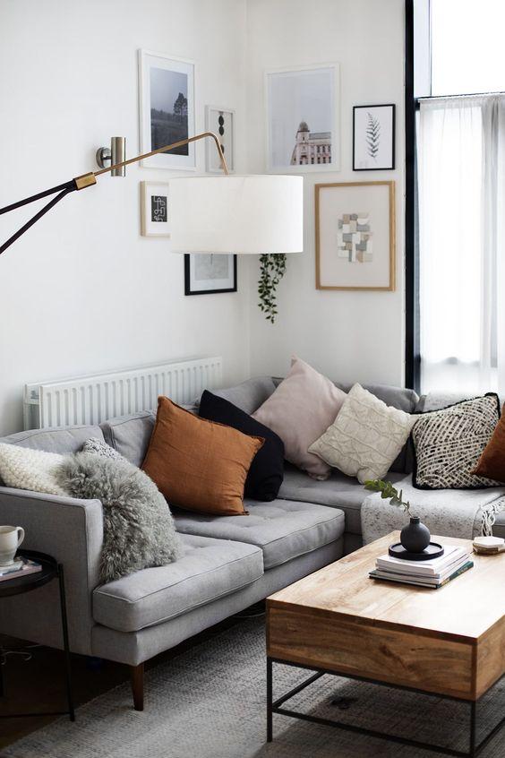 3 Tips para elegir los cojines del sofá : Trucos de decoración