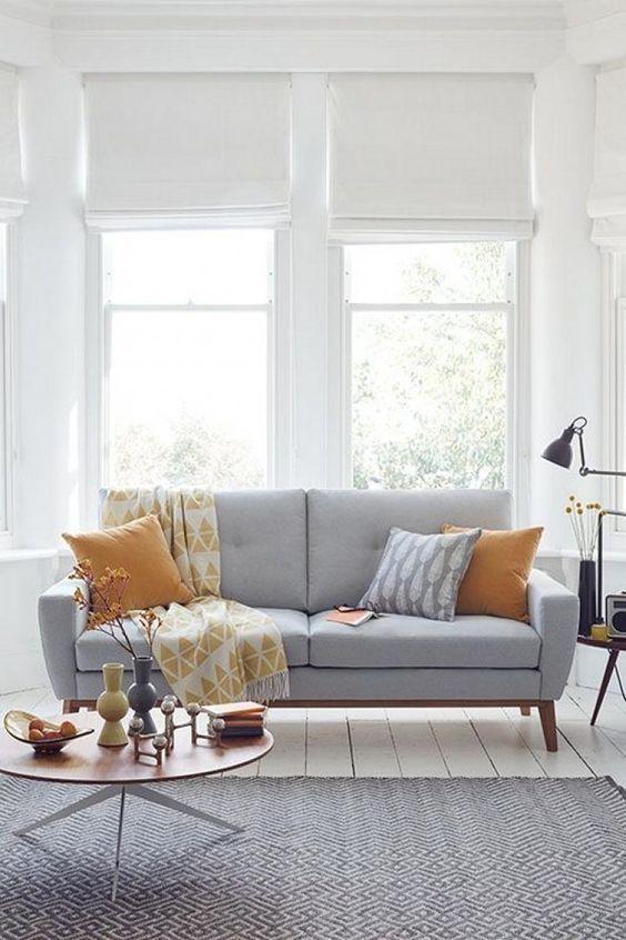 bases para decorar un salón con estilo nórdico