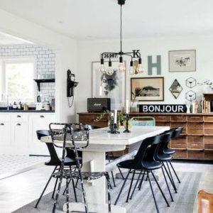 mesas de comedor para casas de verano