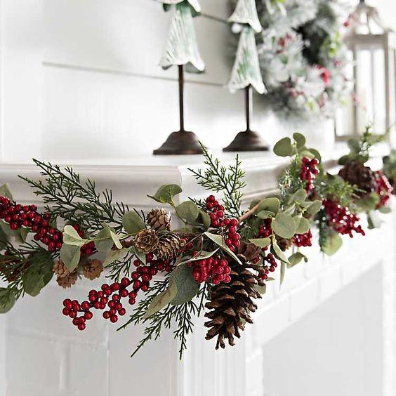 Decoración de Navidad tradicional