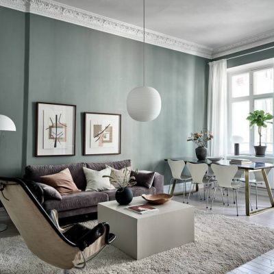Colores de los interiores de estilo nórdico en 2020