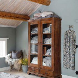 decorar con muebles antiguos