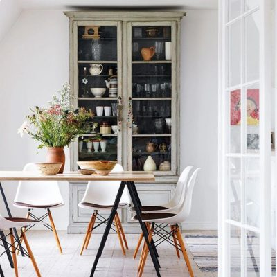 decorar con vitrinas
