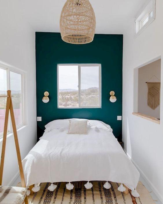 Un truco para decorar dormitorios pequeños